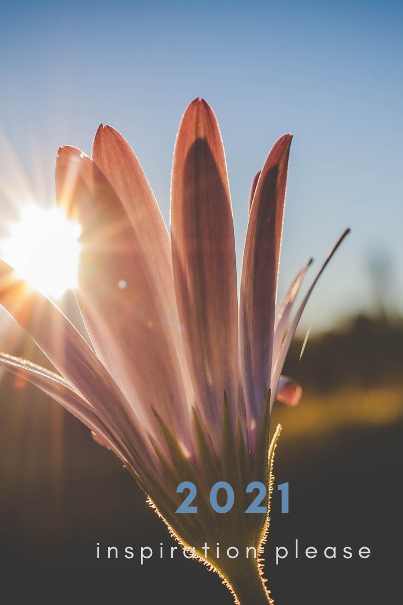 inspiration for 2021